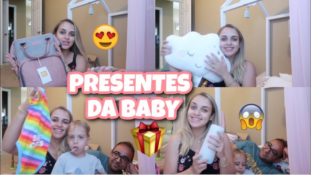 PRESENTES BABY AGATHA| CHA DE BEBE - VANESSA MORAES