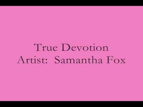 Samantha Fox   True Devotion
