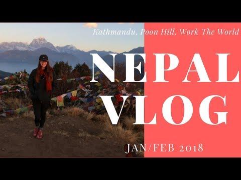 NEPAL TRAVEL VLOG 2018