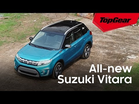 We drive the all-new Suzuki Vitara