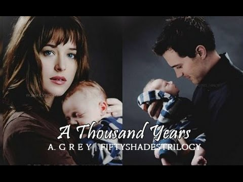 Thumbnail: Fifty Shades Trilogy | Christian and Ana - A Thousand Years
