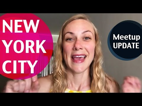 SURPRISE ANNOUNCEMENT! Hello NEW YORK: Meetup & filming