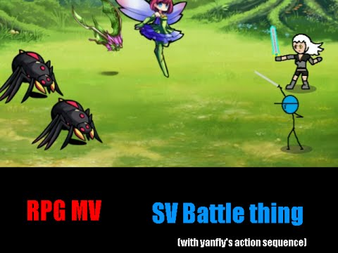 RPG Maker MV Action Sequence battle thing