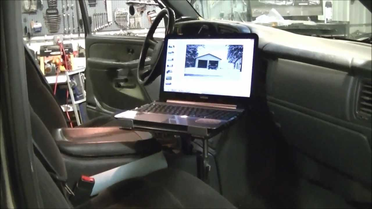 Laptop Computer Truck Mount Quot Part 1 Quot Youtube