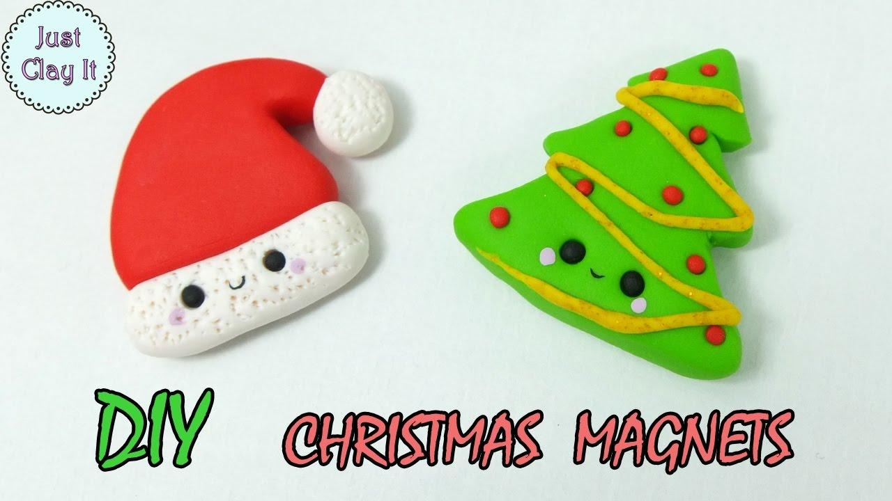 Christmas Polymer Clay Tutorial Diy Christmas Gifts Ideas