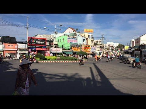 Trực tiếp chợ phường 5, thành phố Bến Tre ngày nay thay đổi ra sao ?