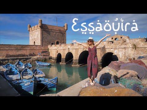 Exploring Essaouira In Marocco - 4K Hyperlapse Through The Medina (Old Town)