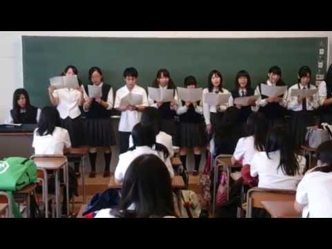 Japanese students singing 1Malaysia song