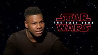 LEGO Interviews - Star Wars: The Last Jedi cast