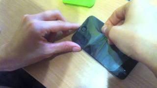 Распаковка чехла Dexim для iPod touch 4G