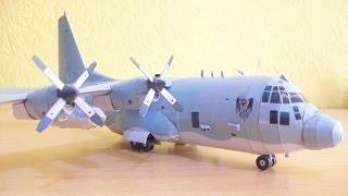 AC-130 Spooky Gunship Papercraft