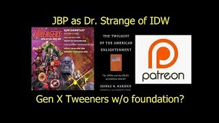 Jordan Peterson is the Dr. Strange of the IDW/Avengers taking on Patreon