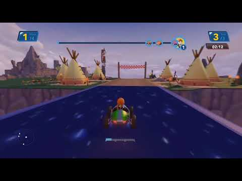 Elsa De Frozen La Pelicula Con Rayo Mcqueen De Disney Cars 2 Disney Pixar | Disney Infinity  Ep 114