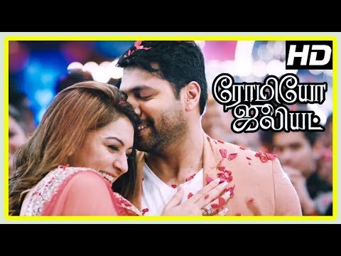 Romeo Juliet Climax Scene | Ever Lasting Love Song | Jayam Ravi and Hansika unite | Poonam Bajwa