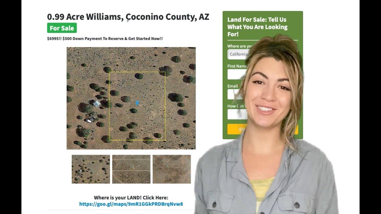 0.99 Acre Williams Property in Coconino County, AZ