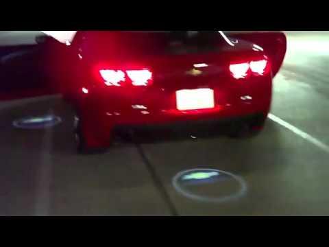 Vip Laser Door Light Camaro Youtube