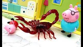 Мультики для детей с игрушками Герои в масках Страшилища из сетки Новые видео про жуков и пауков