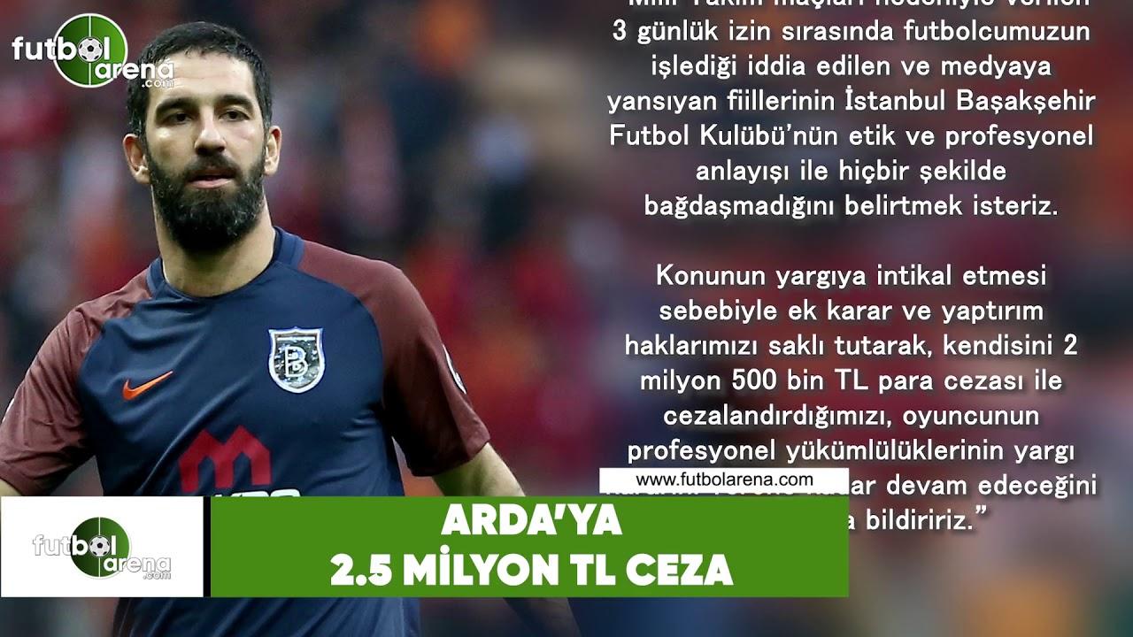 Başakşehirden Arda Turana para cezası