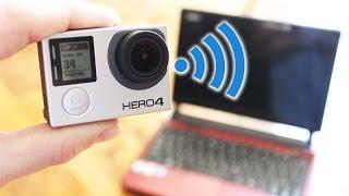 Stream GoPro HERO4 to PC over WiFi | Editing tips with Sebastian Lindblad