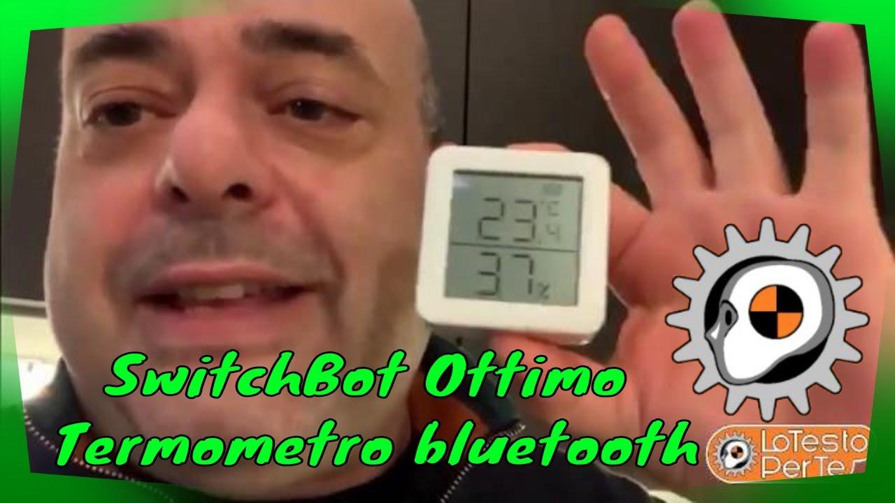 Switchbot Ottimo Termometro Bluetooth Per Controllo Temperatura Ambiente A Solo 20 Euro Youtube Termometro digital para cocina xiaomi bluetooth humedad. youtube