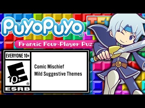 Puyo Puyo Tetris is for E10+ everyone