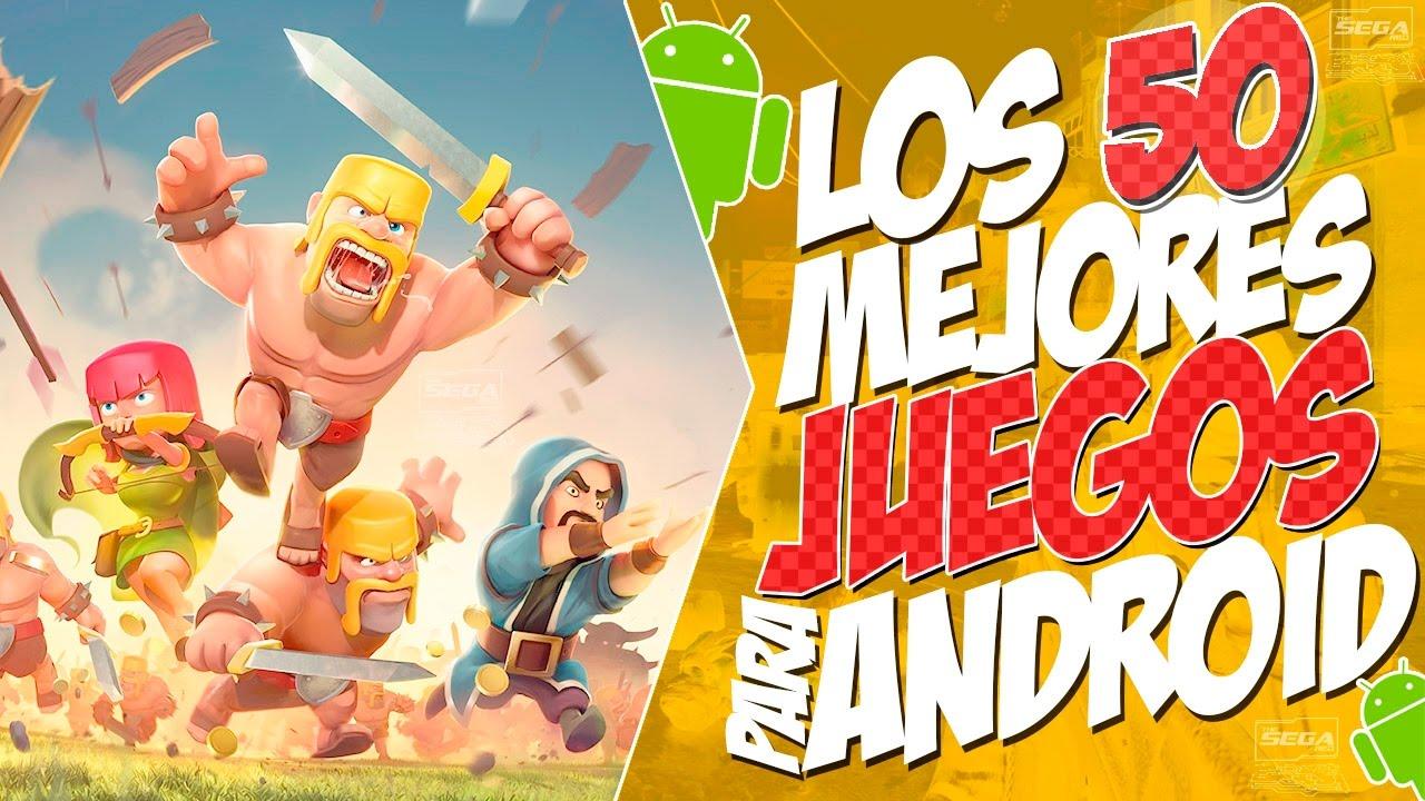Top 50 Mejores Juegos Android Online Offline 2017 Gratis