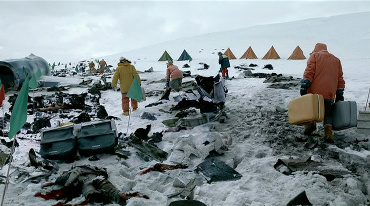 Mount Erebus Crash Clean up