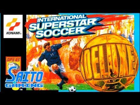 International Superstar Soccer DELUXE (SNES) - SCENARIO MODE (No Miss) + Ending (Credits)