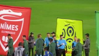 Nimes Olympique - St Etienne Ligue1 PRESENTATION