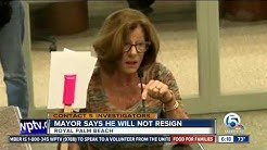 Royal Palm Beach mayor says he will not resign