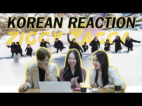 [REAKSI] CEWEK KOREA  ZIGGY ZAGGA-GEN HALILINTAR/KOREAN REACTION MUSIC VIDEO