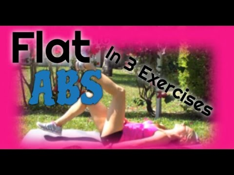 workouts for women to flatten the belly abs exercises