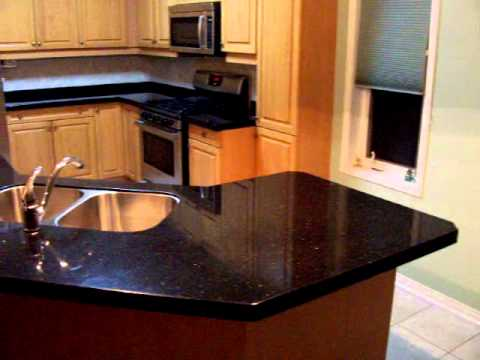Granite Overlay by CRS Granite  Black Galaxy Gold Granite
