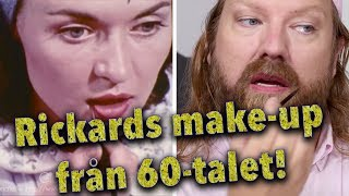 Rickards make-up från 60-talet!