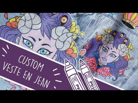 Youtube Custom 4 Veste En Elowings Jean Diy oQrxhBtsdC