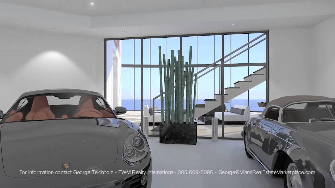 Porsche Design Tower Miami 18555 Collins Ave Sunny Isles Beach Fl Youtube