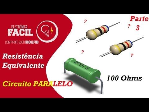 Associação de Resistores em Paralelo - Fórmula Universal - Resistência elétrica