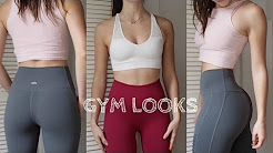 Most Flattering GYM LOOKS