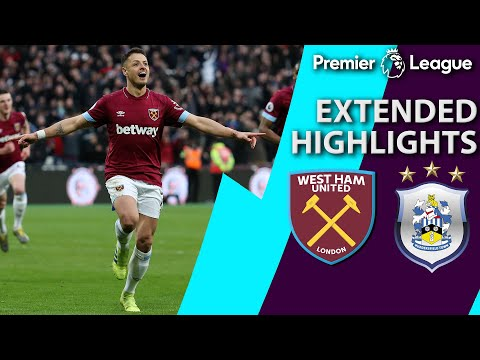 West Ham v. Huddersfield  PREMIER LEAGUE EXTENDED HIGHLIGHTS  31619  NBC Sports