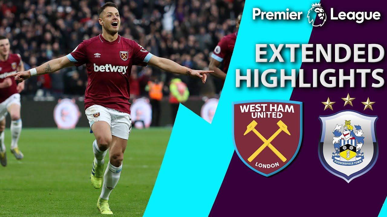 West Ham v. Huddersfield | PREMIER LEAGUE EXTENDED HIGHLIGHTS | 3/16/19 | NBC Sports