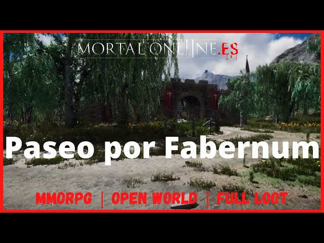 ✮ Mortal Online 2 Comunidad Hispana【PASEO POR FABERNUM】MMORPG Sandbox Open World