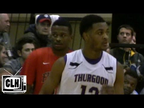 Stanford Robinson vs Mark Alstork at 2013 Flyin To The Hoop - Findlay vs Thurgood Marshall