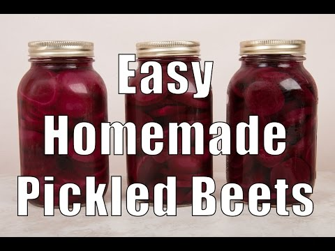How to make pickled beets for canning