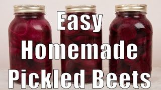 Easy Homemade Pickled Beets (med Diet Episode 26)