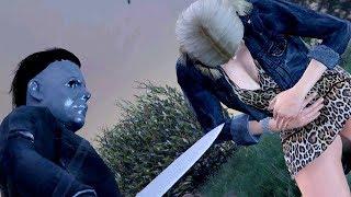 GTA 5 Die Hard 140 ► Michael Myers Kills