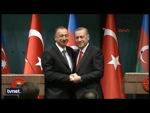 Ilham Aliyev - Recep Tayyip Erdoğan Kucaklaşması (Düşmanlar Çatlasın)