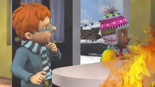Feu dans la maison! ⭐️ Sam le Pompier | Meilleures vidéos de pompier | Dessin animé