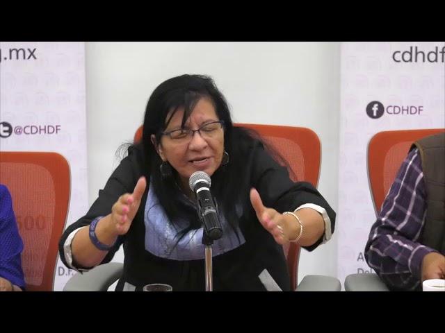Discurso de la Presidenta de la CDHDF, Nashieli Ramírez en la reunión con las y los periodistas