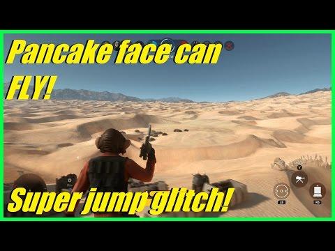 Star Wars Battlefront - Pancake face can fly! (Nien Nunb) | Super jump glitch haha (HvsV)