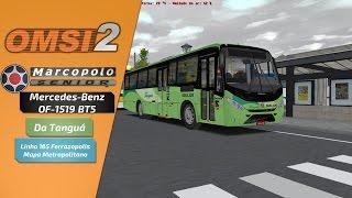 OMSI 2 - Marcopolo Senior Midi MB OF-1519 do FKN [+Download] - Dupla Função Mapa Metropolitano